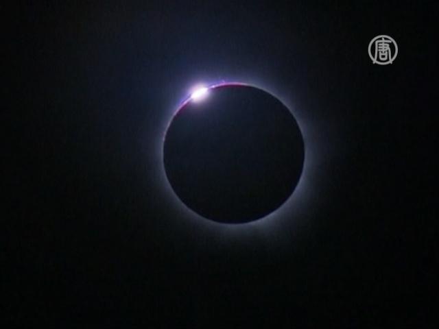 Полное солнечное затмение наблюдали в Австралии