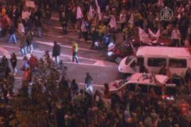 Протесты в Европе: аресты, стычки и насилие