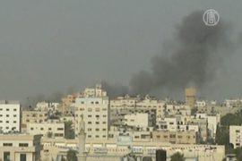 Войска Израиля остаются на границе с Газой