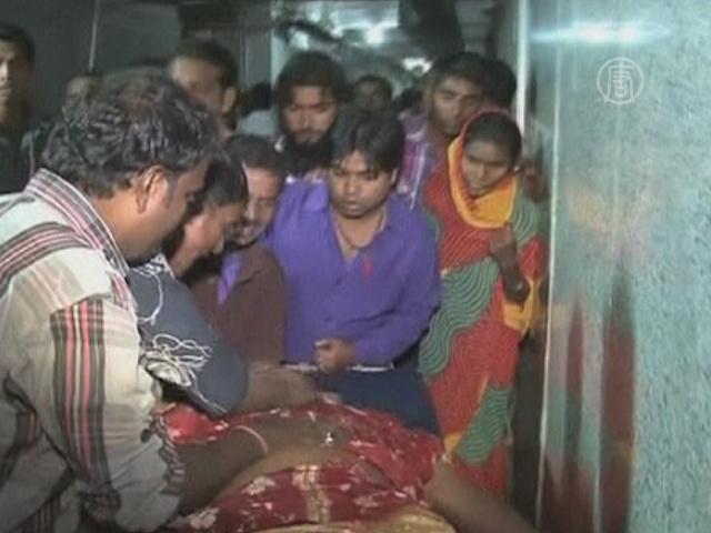 Давка на празднике в Индии: погибли женщины и дети
