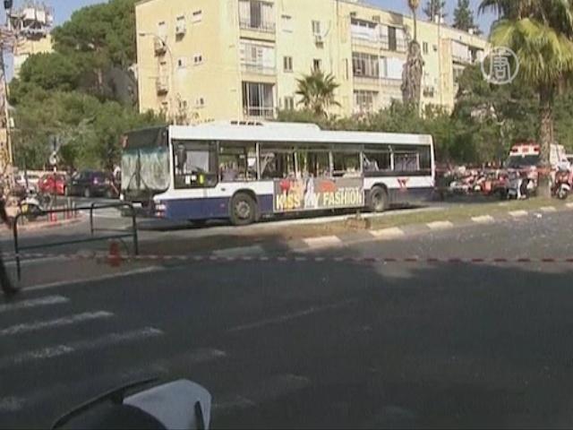 Тель-Авив: взрыв в пассажирском автобусе