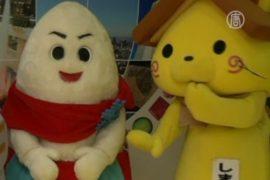 Мультяшные персонажи оживают в Японии