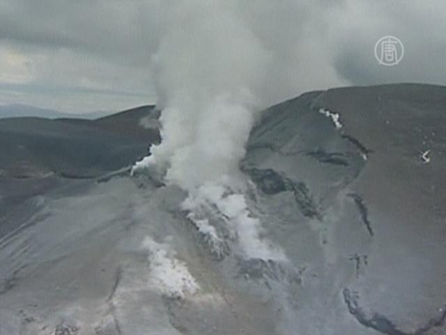 Извергается вулкан, снятый во «Властелине колец»