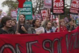 Лондон: протест студентов прошел без погромов