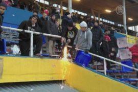 Стокгольмский стадион разобрали на сувениры