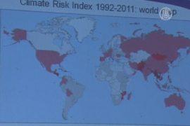 Названы страны, больше всех пострадавшие от погоды