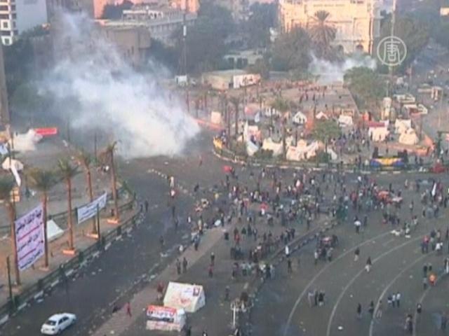 Стычки в Каире продолжались всю ночь