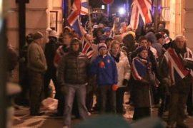 Снятие флага в Белфасте вызвало беспорядки