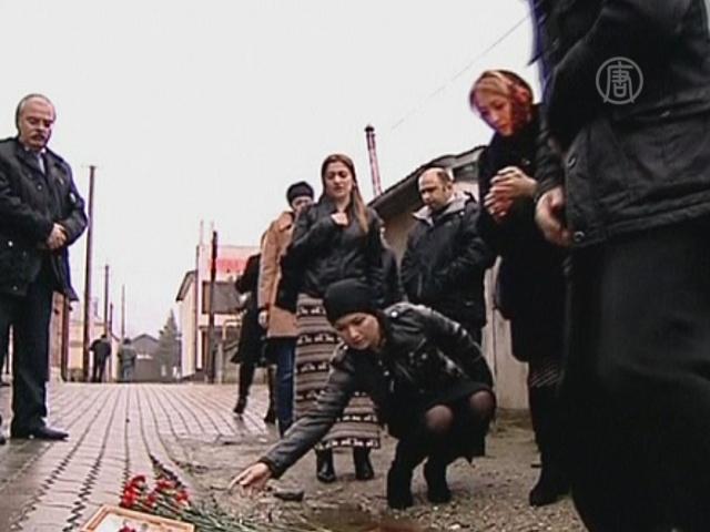 В Нальчике простились с убитым ведущим «Вестей»