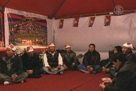 Тибетцы голодали в Тайване ради свободы