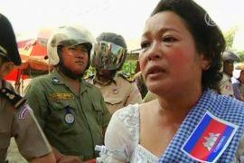 В Камбодже протестуют против захвата земли