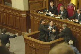 Парламент и правительство Украины получили глав