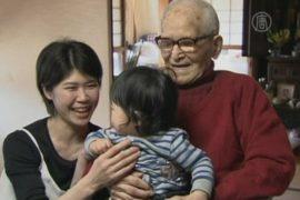 115-летний японец теперь — самый старый в мире