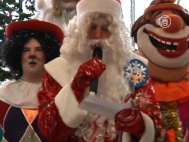 Московские Деды Морозы сдают экзамен