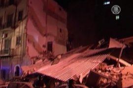 В Сицилии обрушились два жилых дома: есть погибшие