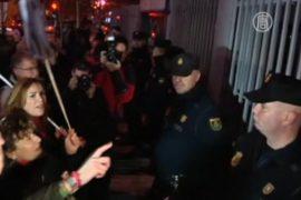 Испания: стычки медработников и полиции