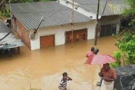 Шри-Ланка: засуху сменили наводнения и оползни