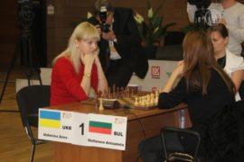 Чемпионка мира по шахматам приехала в Киев