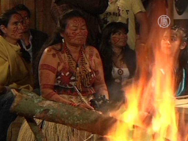 У индейцев Колумбии появилась своя телепрограмма