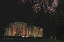 Новый год не вселяет в греков надежду на улучшения