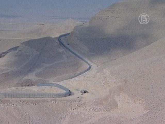 Стена между Израилем и Египтом почти достроена