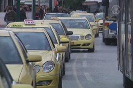 Афины: остановка метро привела к хаосу на дорогах