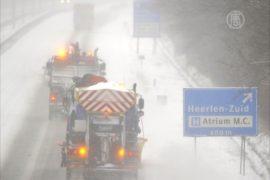 В Европе – «снежный» коллапс