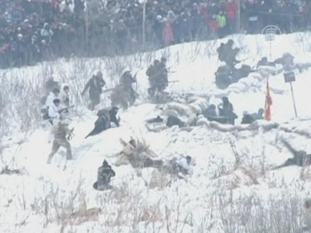 Энтузиасты вновь прорвали блокаду Ленинграда