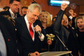 Чехи впервые напрямую избрали президента