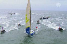 Кругосветка на яхтах – француз побил два рекорда