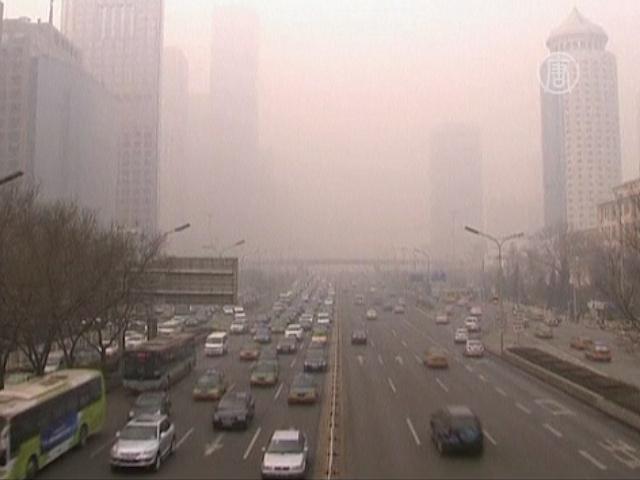 Пекинцы опять задыхаются от смога