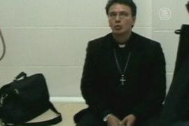 Священник вез в Россию кокаин в собственном животе
