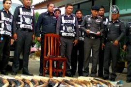 Тайского полицейского арестовали за контрабанду