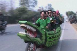 «Мотокрокодил» – уникальный индийский транспорт