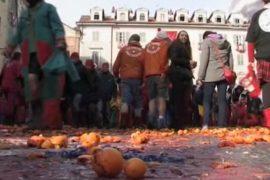 «Битва апельсинами» разгорелась на севере Италии