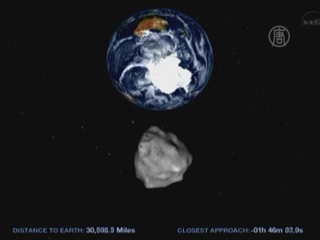 Крупный астероид пролетит рядом с Землей