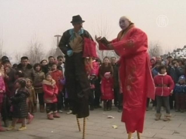 Китайцы отмечают Праздник весны по-разному