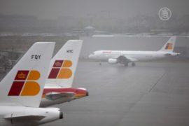 Испанский авиаперевозчик отменил 40% рейсов