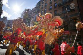 Как проходят парады в честь Китайского нового года