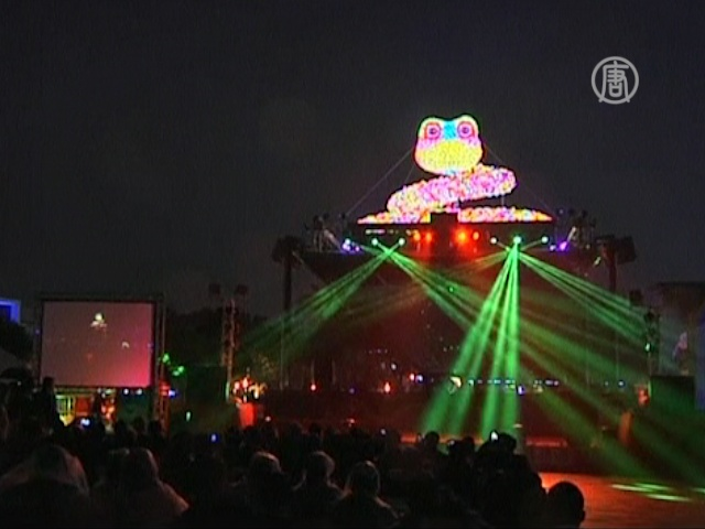 Фестиваль фонарей украсил столицу Тайваня