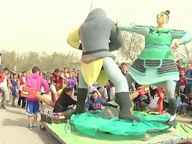 Израильтяне отмечают Пурим эко-карнавалом