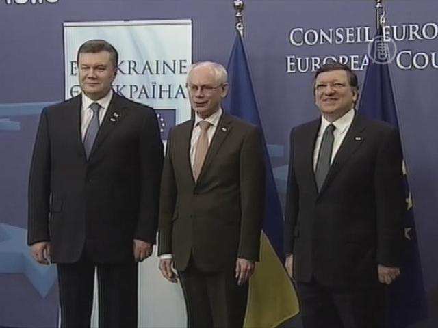 Саммит Украина-ЕС: надежда на ассоциацию
