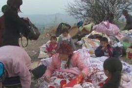 Землетрясение в Китае: 12 тысяч эвакуированных