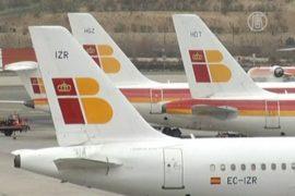 В Испании отменены сотни авиарейсов
