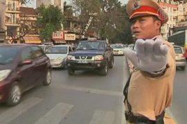 Толстых вьетнамских гаишников выгонят с улиц