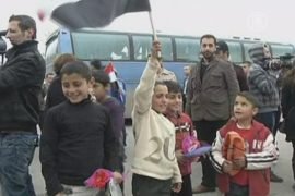 Сирийские беженцы «бегут» обратно