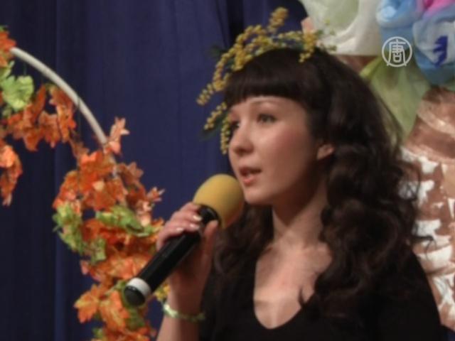 Московские учителя сравнивают себя с цветами