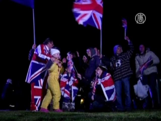 Жители Фолклендов захотели остаться британцами