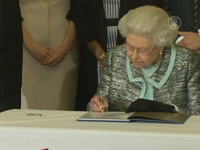 Елизавета II подписала хартию Содружества