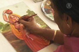 72-летняя студентка учится живописи